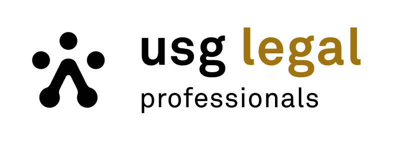 Logo USG Legal - Print & online producten
