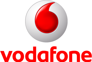 Logo Vodafone - Narrowcasting animaties